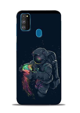 Astronaut Landed Samsung Galaxy M31 Mobile Back Cover