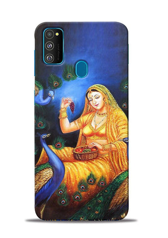 The Peacock Samsung Galaxy M31 Mobile Back Cover