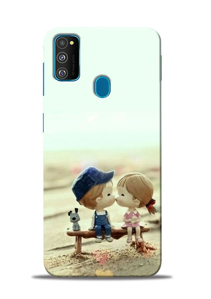 The First Kiss Samsung Galaxy M31 Mobile Back Cover