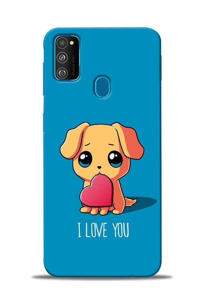 The Love Samsung Galaxy M31 Mobile Back Cover