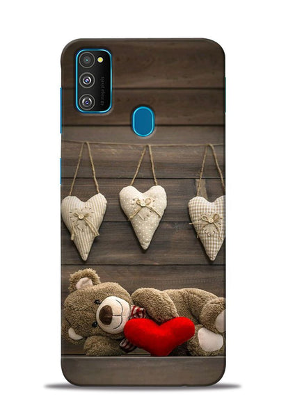 Teddy Love Samsung Galaxy M31 Mobile Back Cover