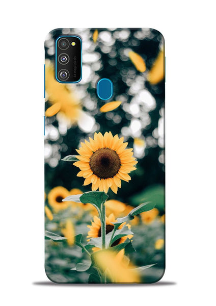 Sun Flower Samsung Galaxy M31 Mobile Back Cover