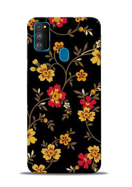 Rising Flower Samsung Galaxy M31 Mobile Back Cover