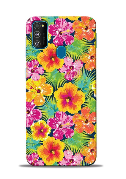 Garden Of Flowers Samsung Galaxy M31 Mobile Back Cover