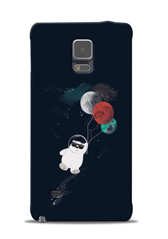 Panda Astronaut Samsung Galaxy Note 4 Mobile Back Cover
