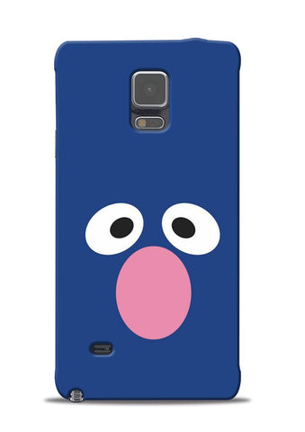 Confused Eyes Samsung Galaxy Note 4 Mobile Back Cover