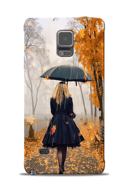 Walk In A Rain Samsung Galaxy Note 4 Mobile Back Cover