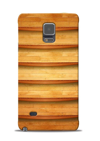 Wooden Texture Samsung Galaxy Note 4 Mobile Back Cover