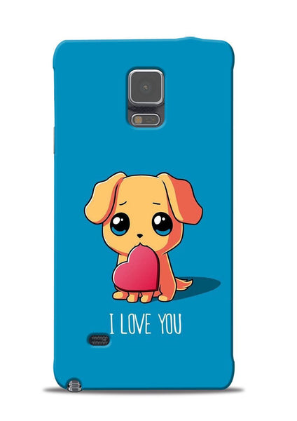 The Love Samsung Galaxy Note 4 Mobile Back Cover