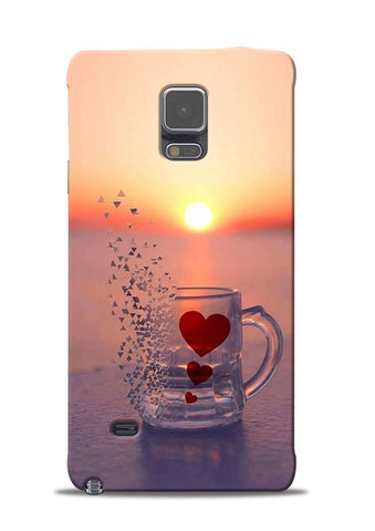 The Hearts Samsung Galaxy Note 4 Mobile Back Cover