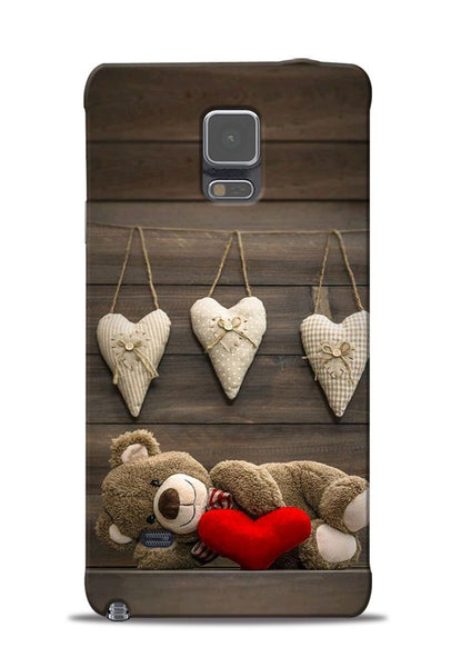 Teddy Love Samsung Galaxy Note 4 Mobile Back Cover