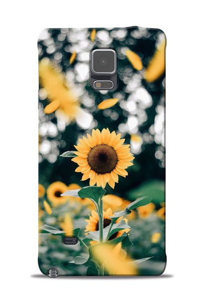 Sun Flower Samsung Galaxy Note 4 Mobile Back Cover