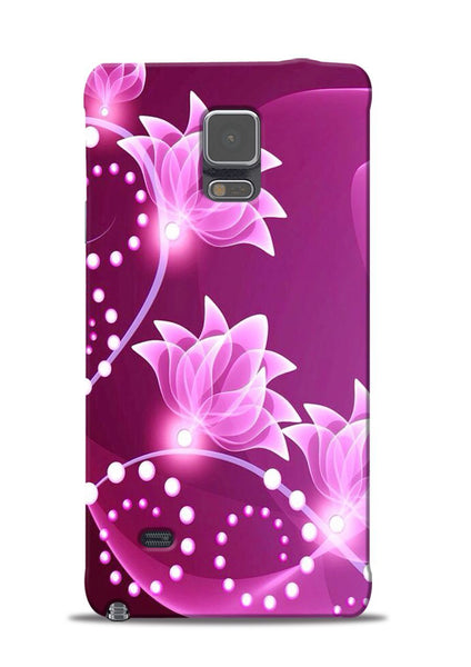 Pink Flower Samsung Galaxy Note 4 Mobile Back Cover
