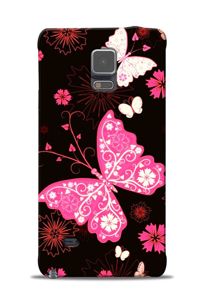 The Butterfly Samsung Galaxy Note 4 Mobile Back Cover