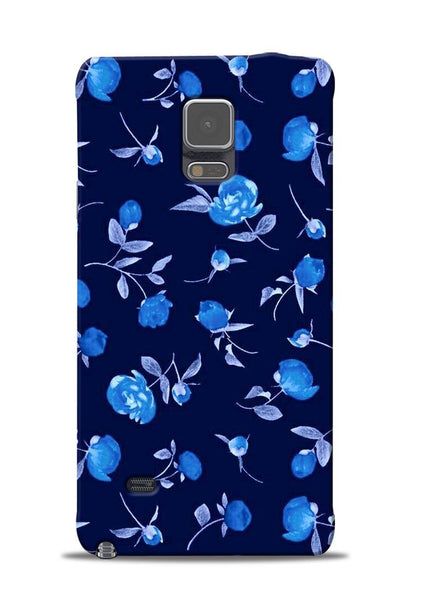 The Blue Flower Samsung Galaxy Note 4 Mobile Back Cover