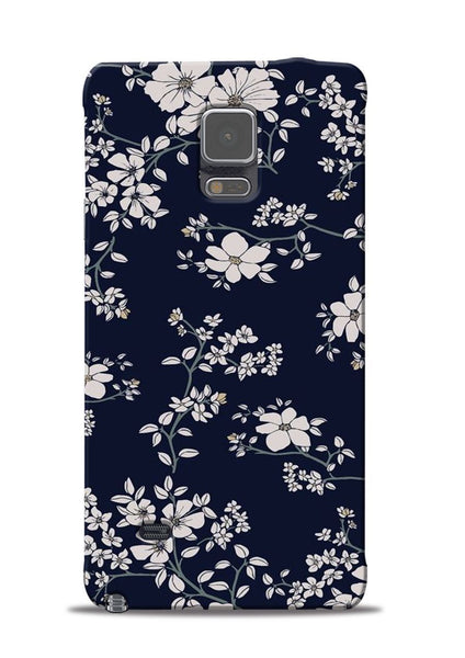 The Grey Flower Samsung Galaxy Note 4 Mobile Back Cover