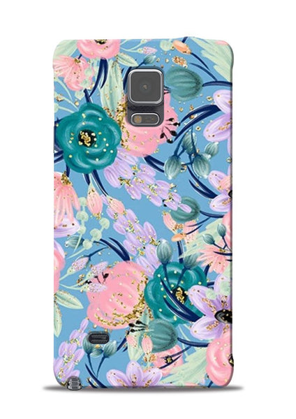 Lovely Flower Samsung Galaxy Note 4 Mobile Back Cover