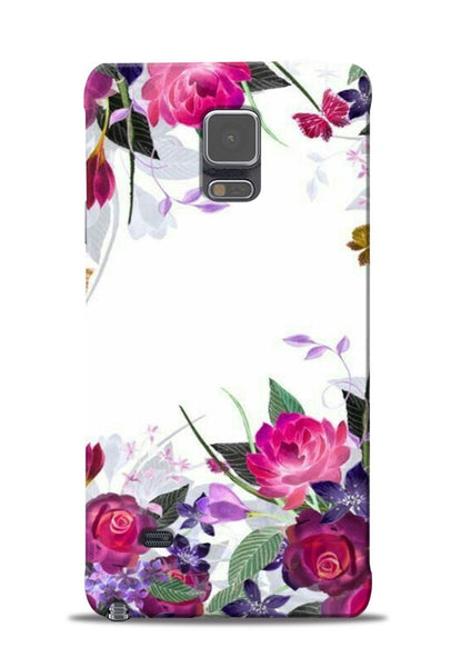The Great White Flower Samsung Galaxy Note 4 Mobile Back Cover