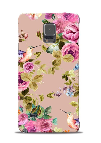 Red Rose Samsung Galaxy Note 4 Mobile Back Cover