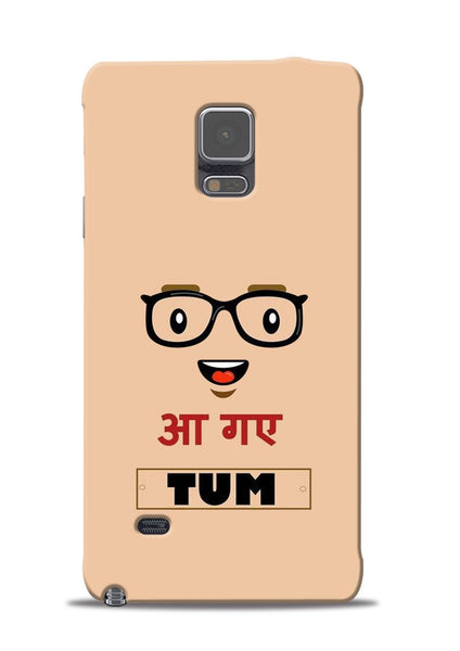 Agaye Tum Samsung Galaxy Note 4 Mobile Back Cover