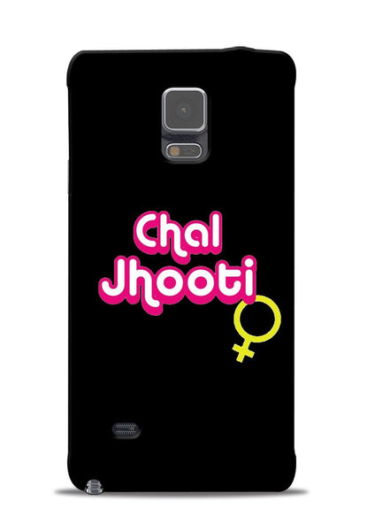 Chal Jhooti Samsung Galaxy Note 4 Mobile Back Cover