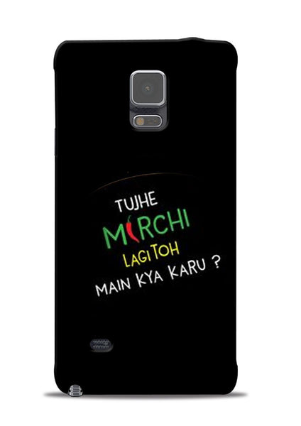 Mirchi Lagi To Samsung Galaxy Note 4 Mobile Back Cover