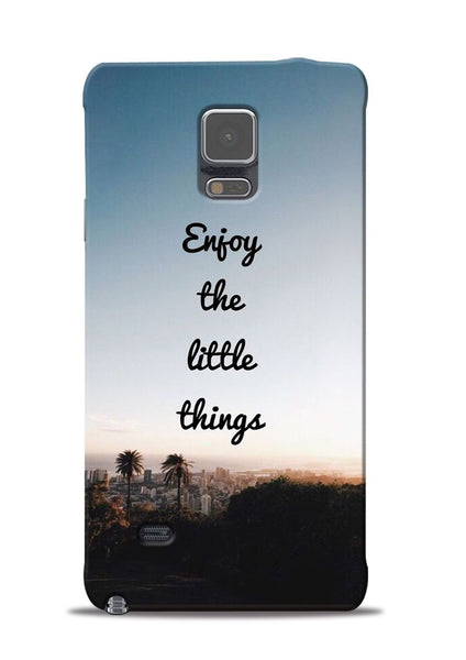 Enjoy The Little Things Samsung Galaxy Note 4 Mobile Back Cover
