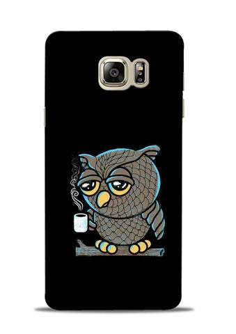 Sleepy Owl Samsung Galaxy Note 5 Mobile Back Cover