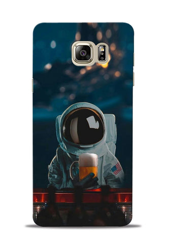 Astronaut Beer Samsung Galaxy Note 5 Mobile Back Cover