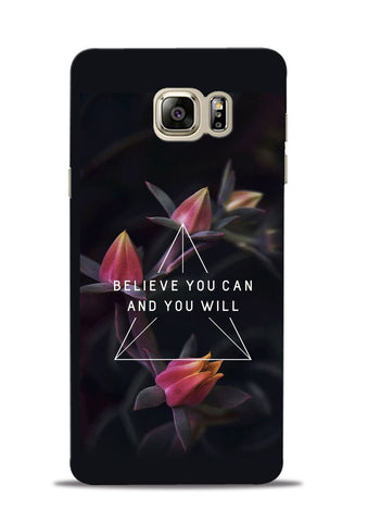 Believe You Will Samsung Galaxy Note 5 Mobile Back Cover
