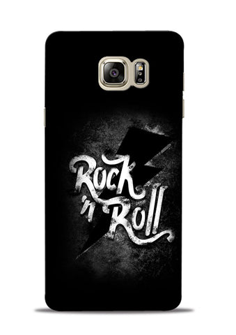 Rock N Roll Samsung Galaxy Note 5 Mobile Back Cover
