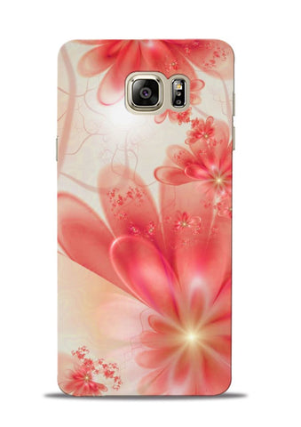 Glowing Flower Samsung Galaxy Note 5 Mobile Back Cover