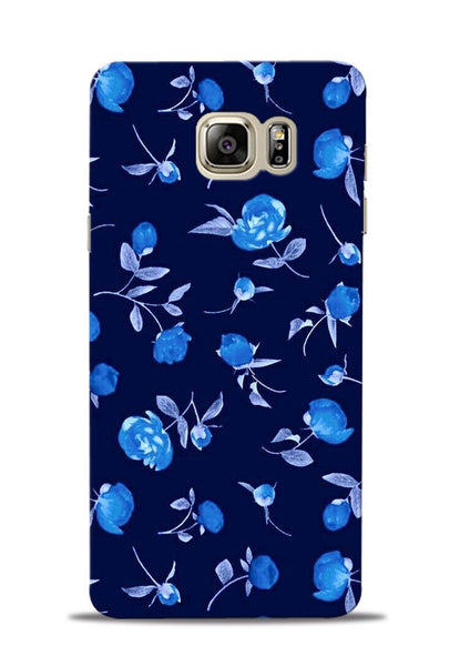 The Blue Flower Samsung Galaxy Note 5 Mobile Back Cover