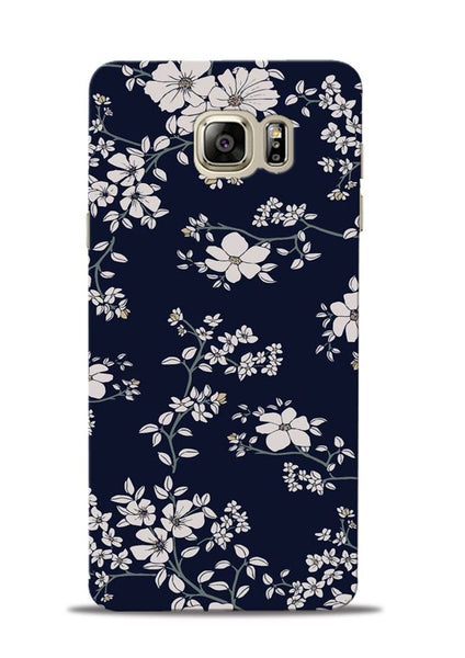 The Grey Flower Samsung Galaxy Note 5 Mobile Back Cover