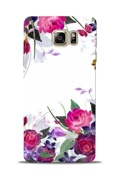 The Great White Flower Samsung Galaxy Note 5 Mobile Back Cover