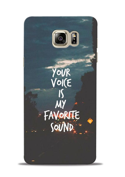 Your Voice Samsung Galaxy Note 5 Mobile Back Cover