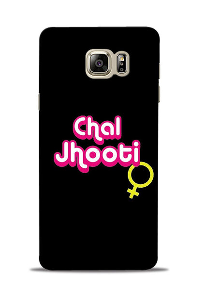 Chal Jhooti Samsung Galaxy Note 5 Mobile Back Cover