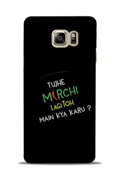 Mirchi Lagi To Samsung Galaxy Note 5 Mobile Back Cover