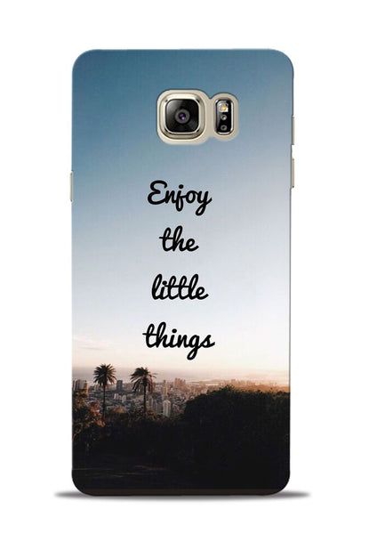 Enjoy The Little Things Samsung Galaxy Note 5 Mobile Back Cover
