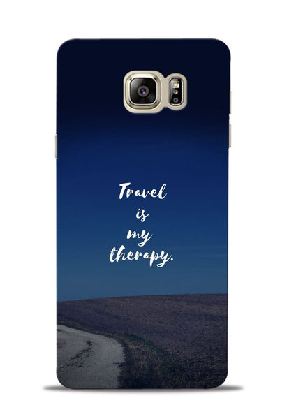 Travel Is My Therapy Samsung Galaxy Note 5 Mobile Back Cover