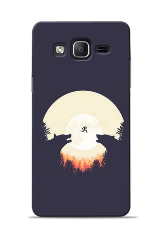 Wolf Bear Samsung Galaxy On5 Mobile Back Cover