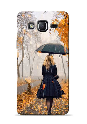 Walk In A Rain Samsung Galaxy On5 Mobile Back Cover