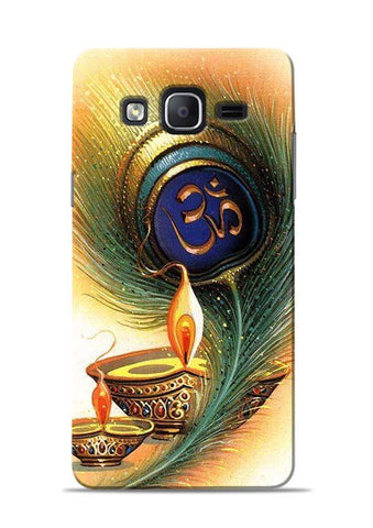 The Glowing Diya Samsung Galaxy On5 Mobile Back Cover