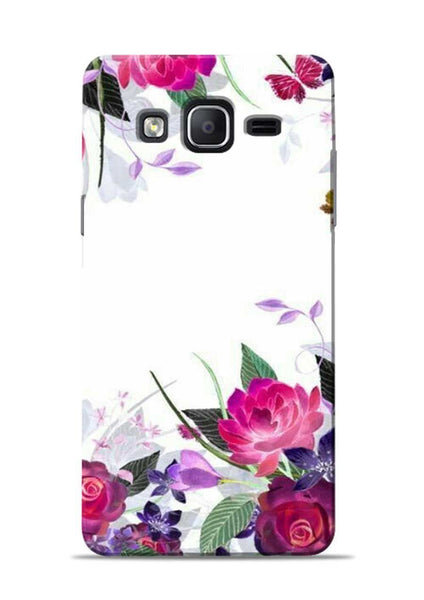 The Great White Flower Samsung Galaxy On5 Mobile Back Cover