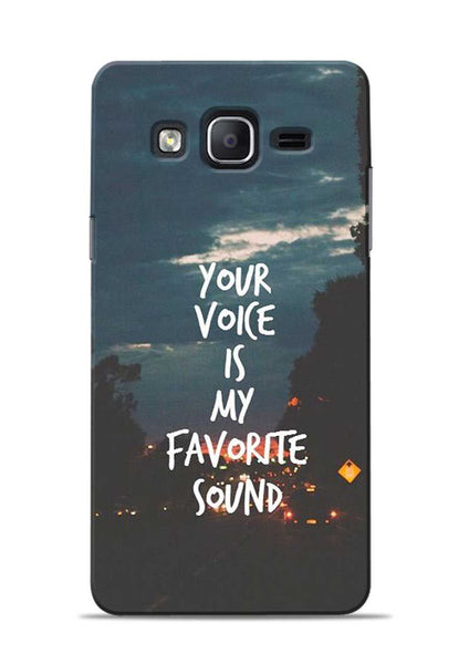 Your Voice Samsung Galaxy On5 Mobile Back Cover