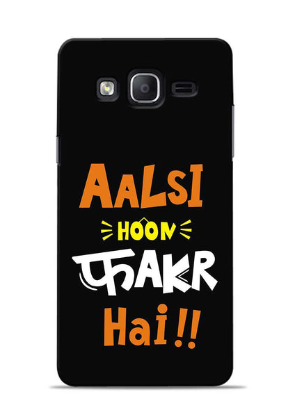 Aalsi Hoon Fakar Hai Samsung Galaxy On5 Mobile Back Cover