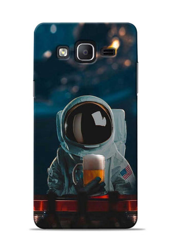 Astronaut Beer Samsung Galaxy On7 Mobile Back Cover