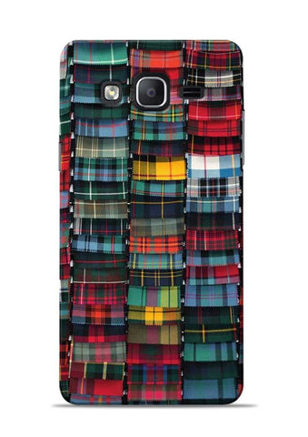 Multi Checks Samsung Galaxy On7 Mobile Back Cover