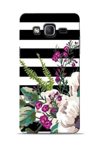 Lovely Flowers Samsung Galaxy On7 Mobile Back Cover