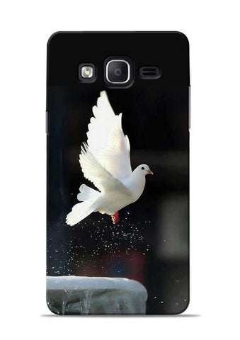 The White Bird Samsung Galaxy On7 Mobile Back Cover